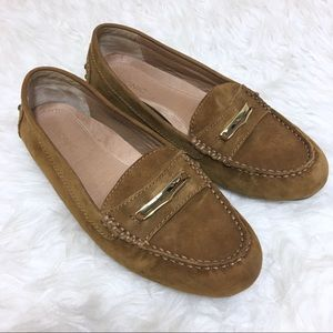 Vionic Ashby Moccasin Loafer Suede Size 8